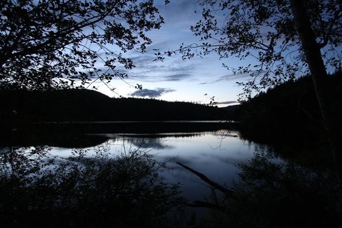 lake near Carol's